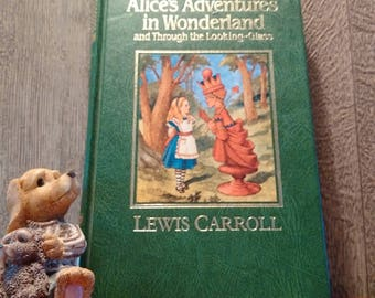 PERFECT! LEWIS CARROLL Alice's Adventures in Wonderland // Brand New 1987 Lewis Carroll Classic // Ideal Gift For Alice in Wonderland Fan
