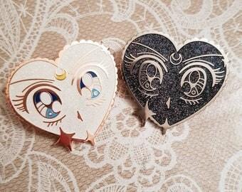 Magical Eyes Pin Badge