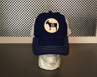 Trucker Hat Tom Brady GOAT Hat