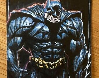 Batman Original Illustration