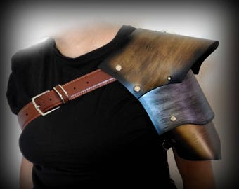 Fantasy Steampunk armor shoulder Cosplay