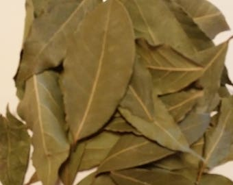 Bay Leaves (Laurus nobilis) Whole Leaf, Culinary quality, aromatic, natural price is wright