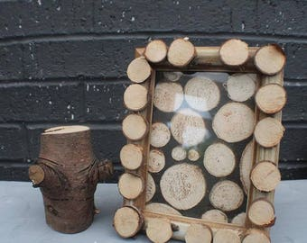 Wooden Log Frames