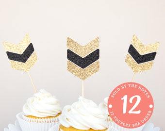 Arrow Cupcake Toppers Wild One Brave One Arrow Toppers Boho Birthday Boho Party Boho Cupcake Tribal Party Boho Baby Shower Chevron Toppers
