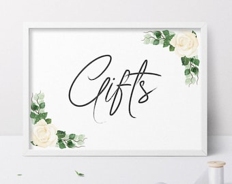 Wedding Card Sign, Wedding Gifts Sign, Gift Table Sign, Gift Table Card, Cards and Gifts Sign, Wedding Gift Table Sign, Wedding Gift Table