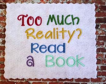 Adult Reading Pillow Design 5x7