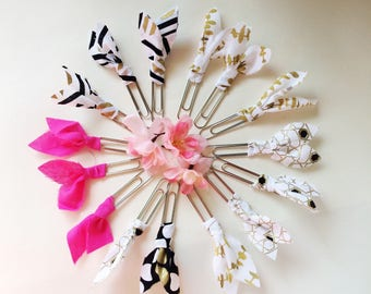 Fabric Ribbon Bookmarks