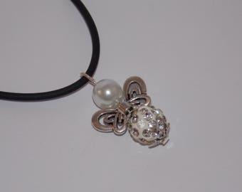 Angel guardian angel necklace