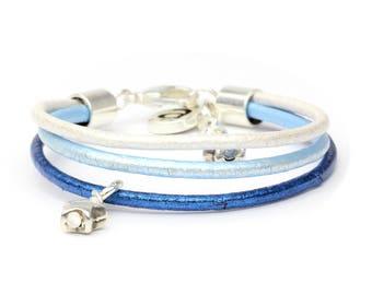 Starlet blue bracelet