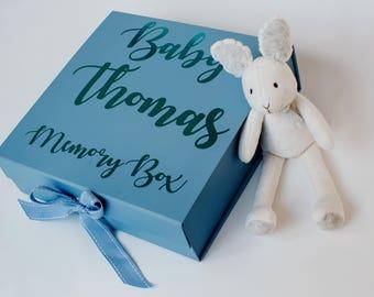 Baby Memory box, new baby gift baby shower gift, baby keepsake box