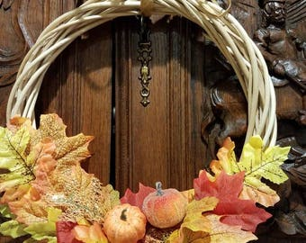 Bright Autumn wreath