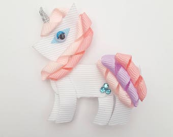 Unicorn Hair Clip