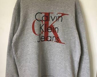Retro Calvin Klein sweatshirt, size L