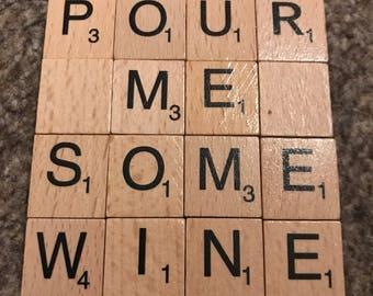 Pour Me Some Wine Coaster