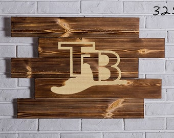 Tampa Bay Rays Wood Sign   Tampa Bay Rays Wall art   Tampa Bay Rays Gift   Tampa Bay Rays Birthday   Tampa Bay Rays Party wooden
