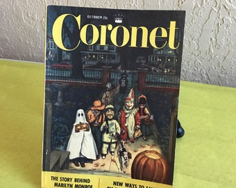 Vintage Coronet Magazine 1952