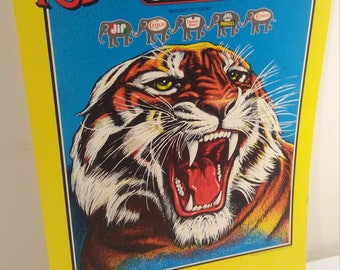 1989 Ringling Brothers Barnum and Bailey's Advertising Sign