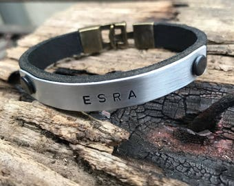 Personalized bracelet for men,custom gift for him and her,personalized gift for mens,custom anniversary gift,gersonalized boyfriend gift