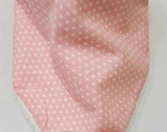 pink star non bavouille bib
