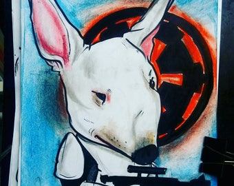Bull Terrier,  storntrooper