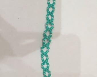 Small turquoise bracelet