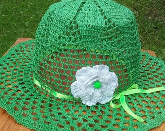 summer hat  gray hat  crochet summer hat  sun hat  cottons hat  crochet hat  women's hat  hat  beach hat  sun crochet hat  beach sun hat