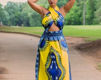 Dashiki Summer Dress