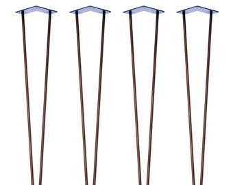 4 x Hairpin Legs - Desk / Dinning Table - 28 inch/ 71cm (All Styles and Finishes)