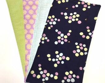 Handmade Burp Cloth Set, Baby Shower Gift, New Baby Gift