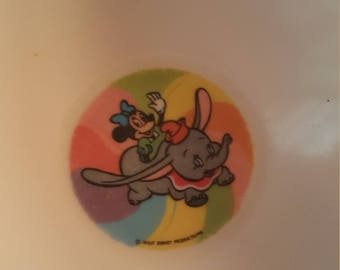 Vintage  Disney collectable plastic bowl