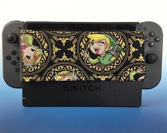 Nintendo Switch Dock Sleeve - Link Gold