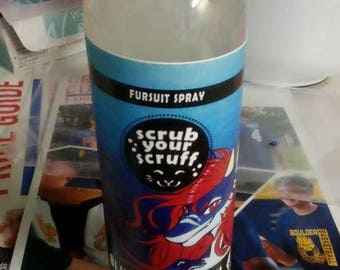 Fursuit Cleaning Spray: Fursona Fragrance Line Edition 1
