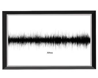 Althea Soundwave Print (B/W) - Grateful Dead