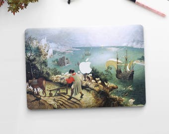 "Pieter Bruegel, ""The Fall of Icarus"". Macbook 15 skin, Macbook 13 skin Pro Air, Macbook 12 skin. Macbook decal. Macbook Art skin."