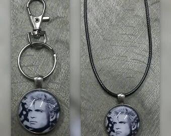 Billy Idol key chain or necklace