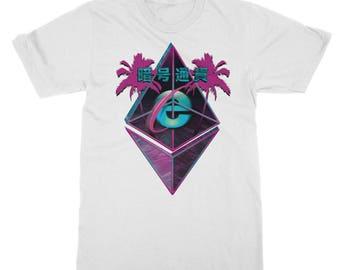 シ Vaporwave AESTHETIC IEThereum T-Shirt シ