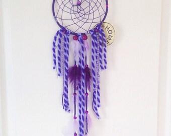 Dream catcher purple cable