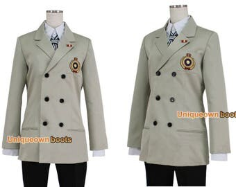 Women's Persona 5 Goro Akechi cosplay costume outfit cosplay costume Only Jacket & tie