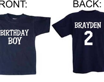 Personalized Birthday Shirts For Girls & Boys