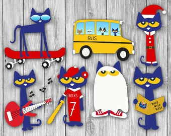 Pete the Cat Clipart