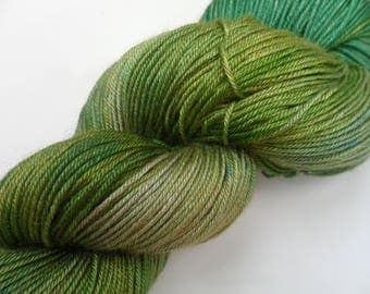 "100gms 4ply Handpainted Baby Camel and Silk Yarn ""Raphael"""