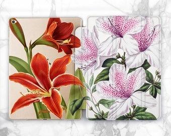 lilies ipad 10.5 ipad case ipad mini 4 ipad pro 9.7 ipad pro 12.9 ipad air floral ipad mini case floral case tablet case ipad floral ipad