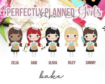 026 | Bake | Planner Girls Planner Stickers