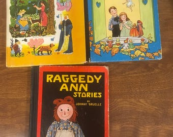 Raggedy Ann and a flip book