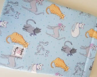 Cats book sleeve ALL SIZES