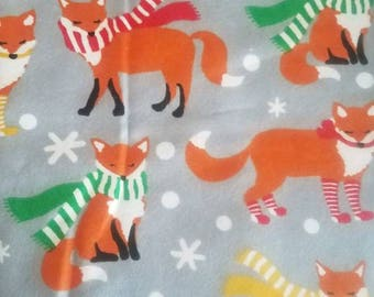 Winter foxes book sleeve