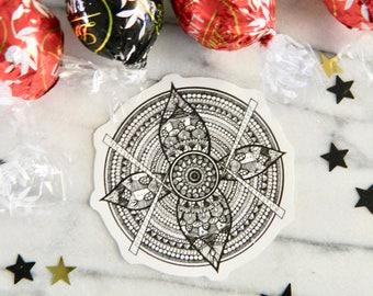 Random Mandala - Stickers