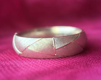 Ring/Sterling Silver/women's gift idea/handmade/Thin ring