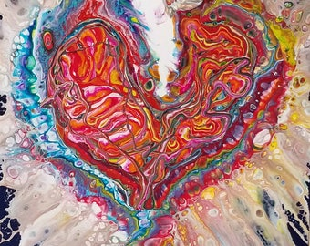 Our colorful exploding heart