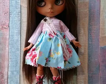 Rocio custom blythe doll